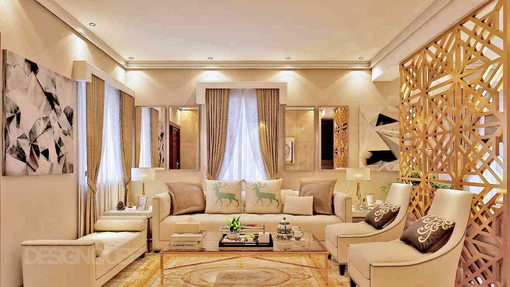 Formal Living Residential of Villa  at Besant Nagar