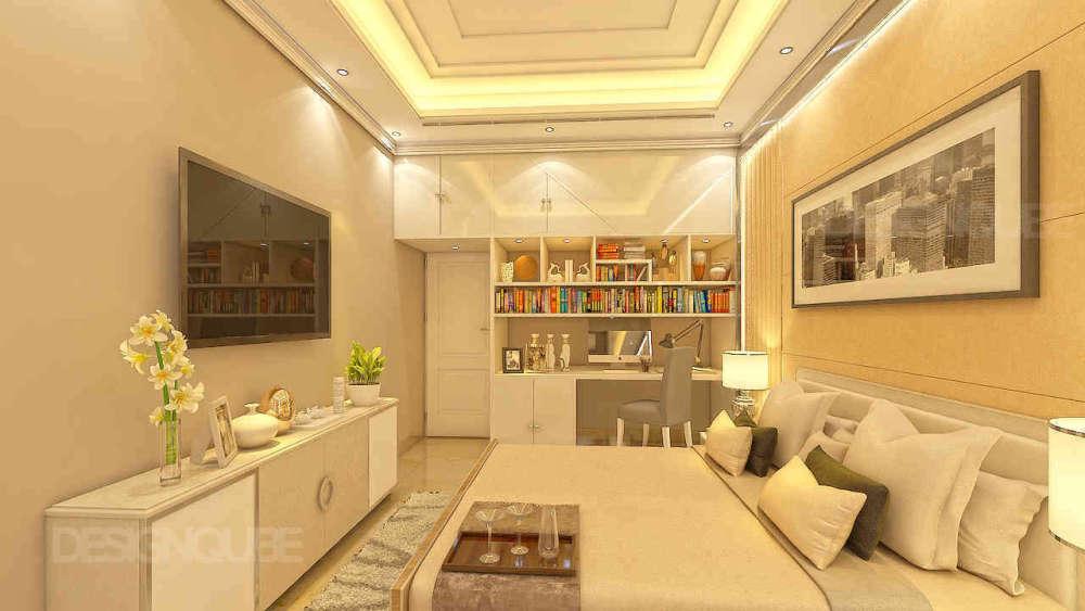 Guest Bedroom Residential of Villa  at Besant Nagar