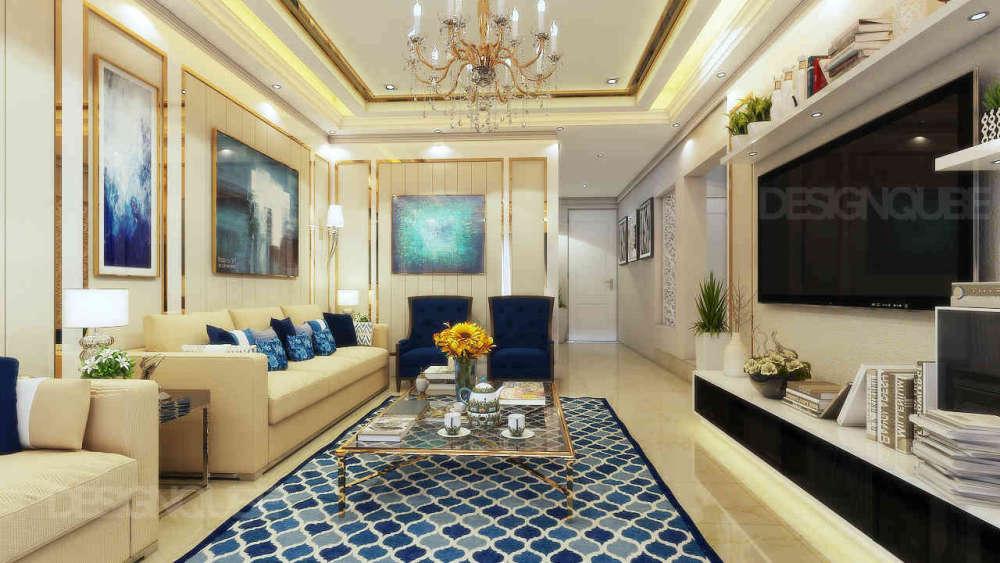 Informal Living Residential of Villa  at Besant Nagar