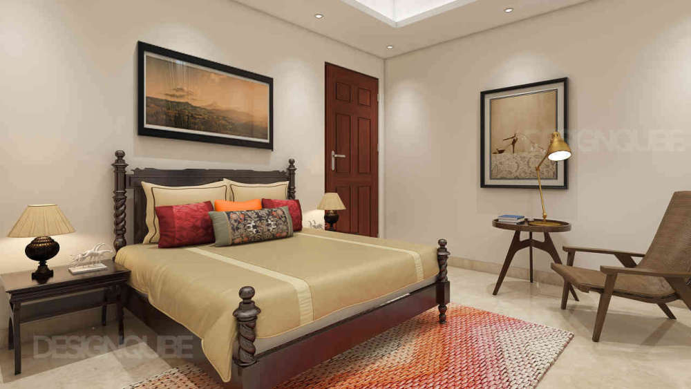 Guest Bedroom Residential of Villa  at OMR
