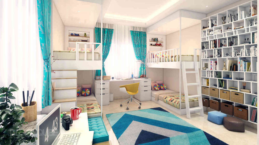 Kids Bedroom Residential of Villa  at OMR