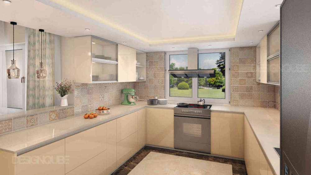 Kitchen Residential of Villa  at OMR