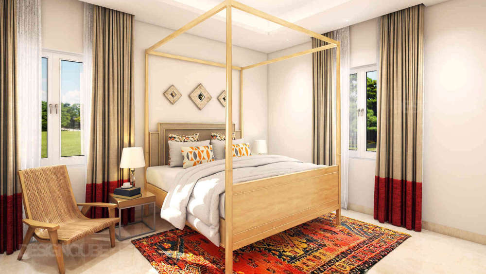 Parent's Bedroom Residential of Villa  at OMR