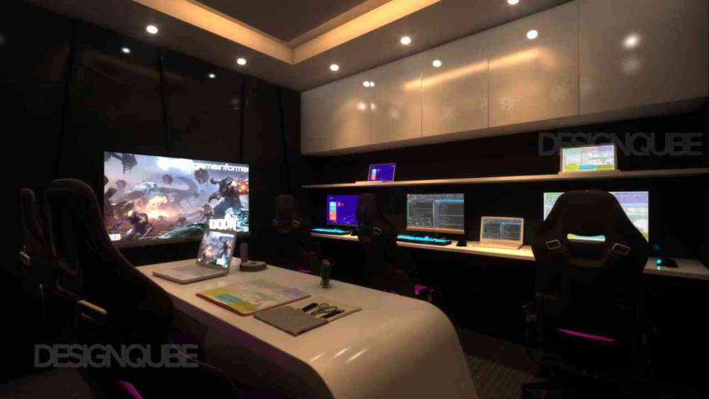 Admin Room Commercial of Gaming Center  at Nungambakkam