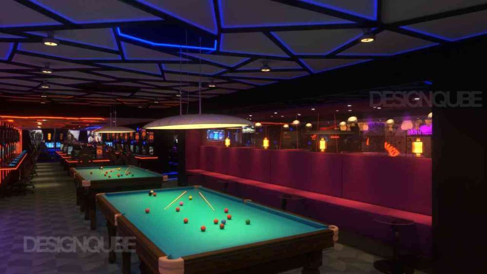 Billiards Commercial of Gaming Center  at Nungambakkam
