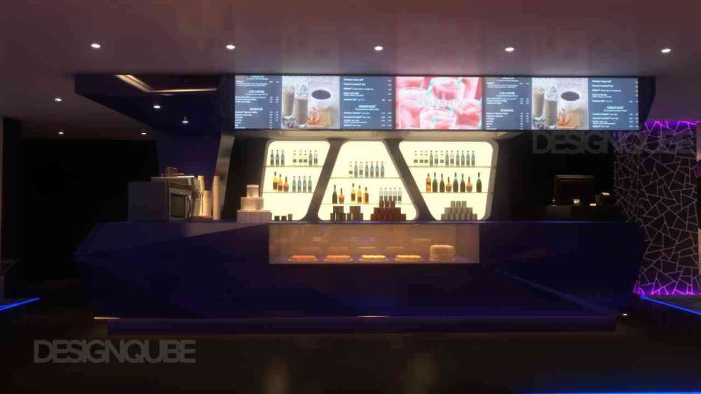 Cafe Commercial of Gaming Center  at Nungambakkam