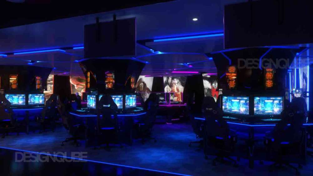 Medium Level Gaming Commercial of Gaming Center  at Nungambakkam