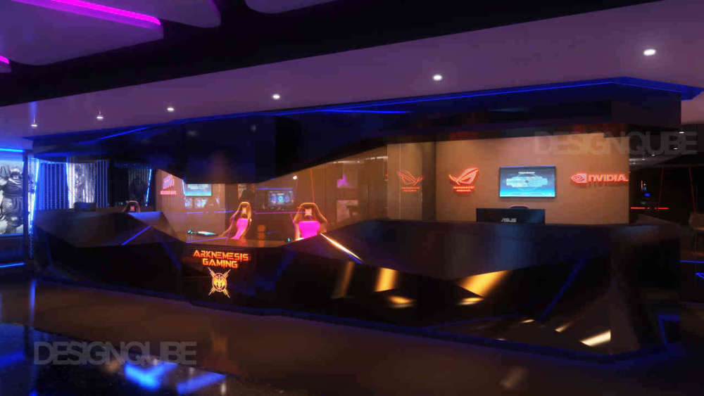 Reception Commercial of Gaming Center  at Nungambakkam
