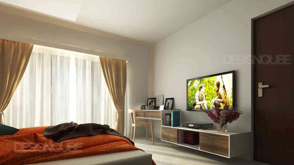 master bedroom Residential of Apartments  at Medhavakkam