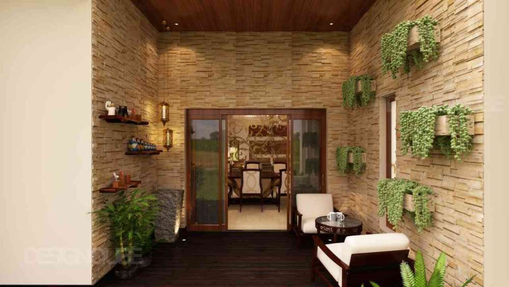 Balcony Residential of Villa  at Thalambur