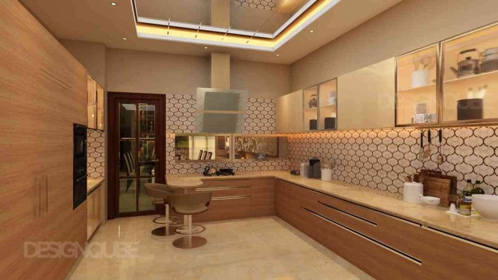Kitchen Residential of Villa  at Thalambur