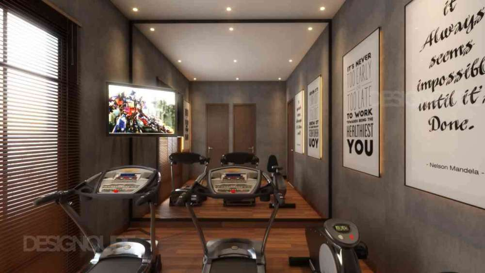 Gym Residential of Villa  at Kilpauk