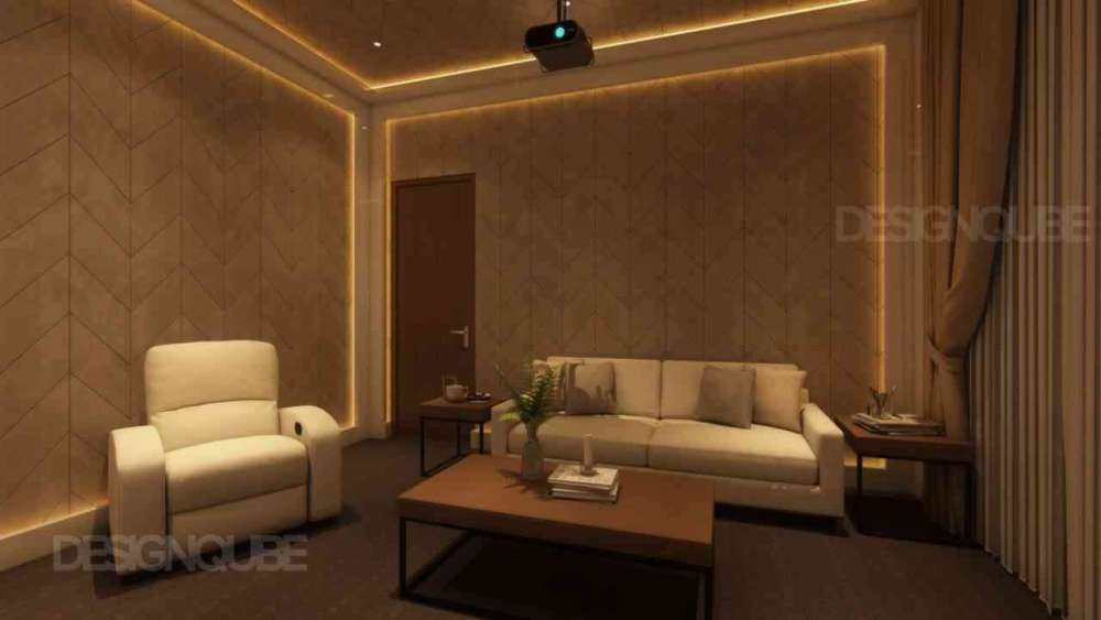 Home Theatre Residential of Villa  at Kilpauk