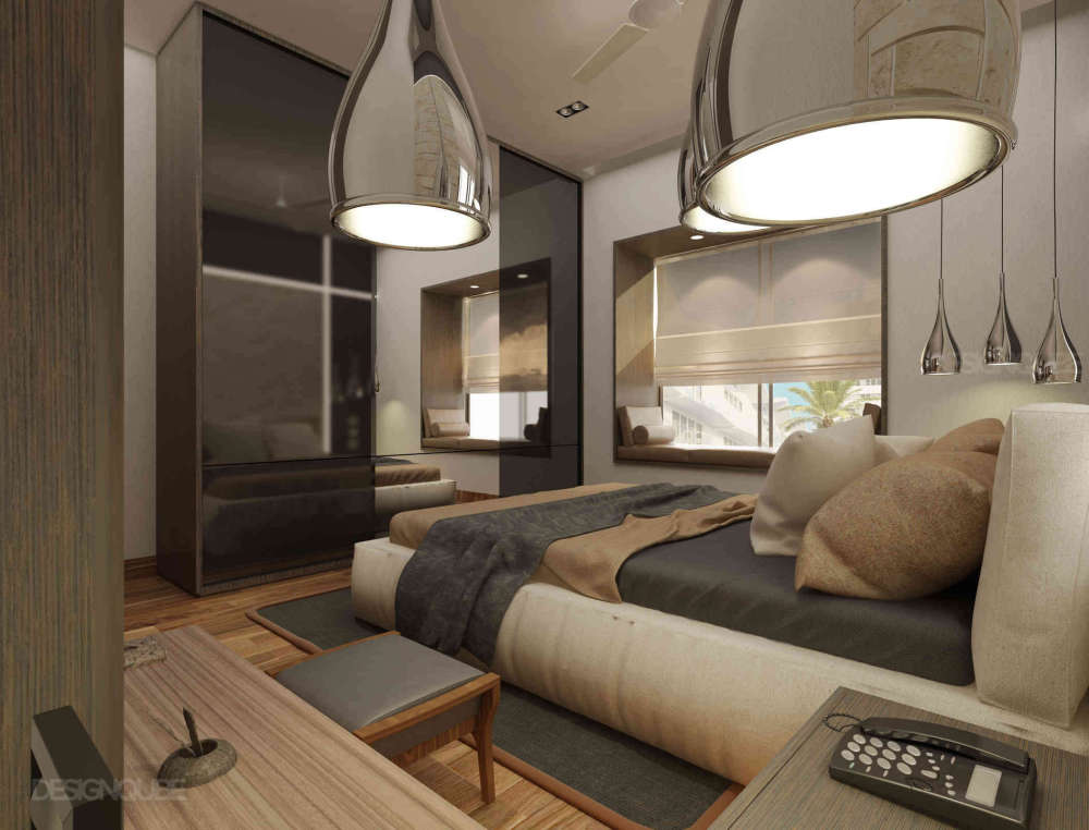 Bedroom1 Residential of Apartments  at Whitefield