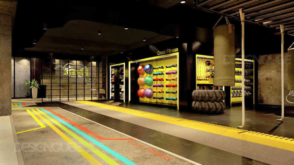 Gym Commercial of Gym  at Adyar