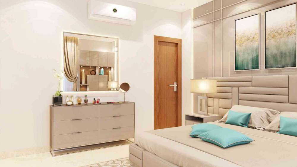 Bedroom 2 Residential of Apartments  at Royapettah