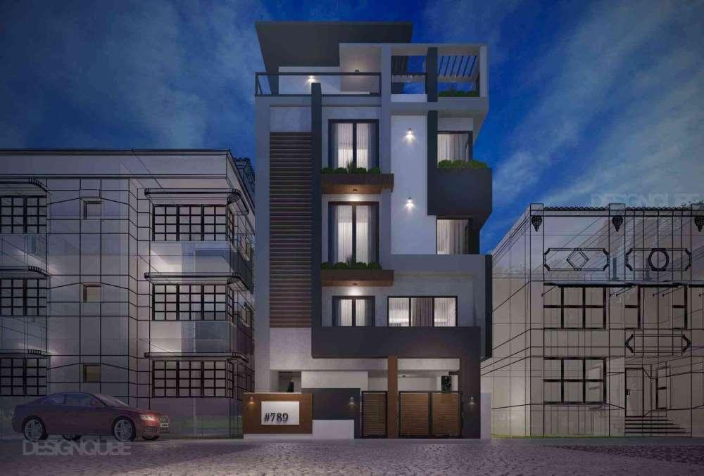 Building Residential of Villa  at Ramurthynagar