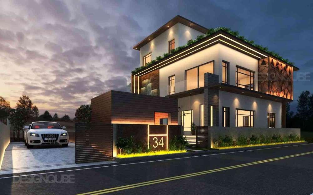 Building Residential of Villa  at Neelankarai