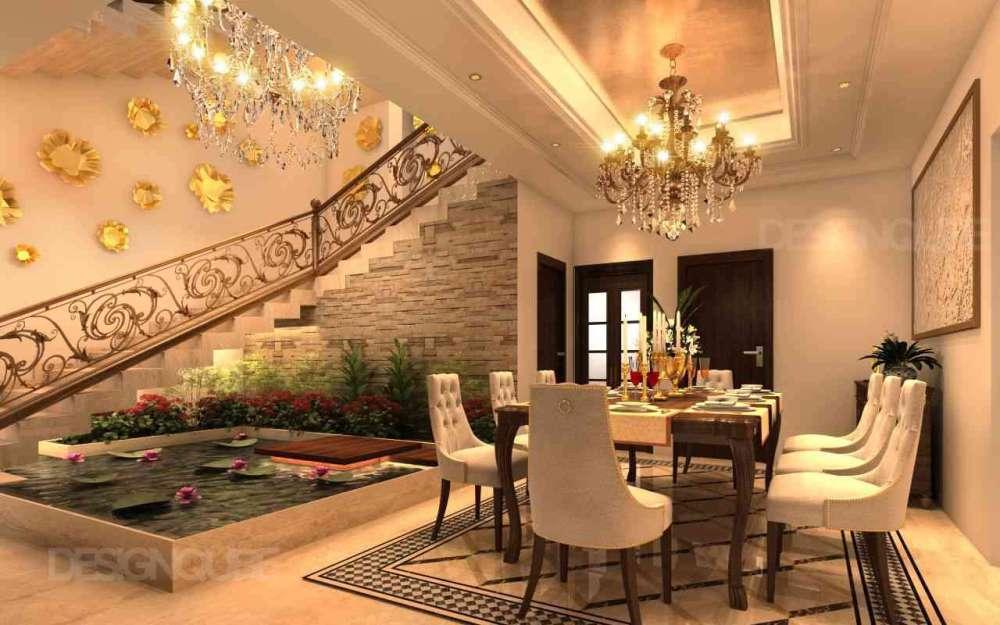 Dining Residential of Villa  at Neelankarai
