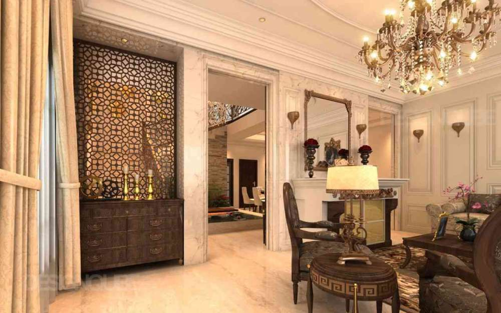 Foyer Residential of Villa  at Neelankarai