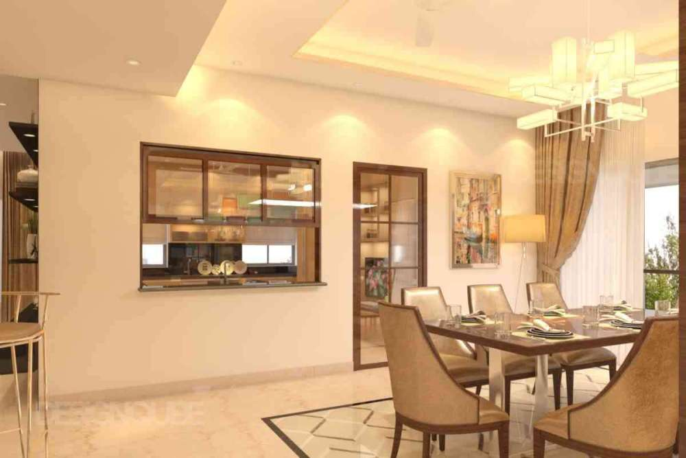 Dining Residential of Apartments  at Alwarpet