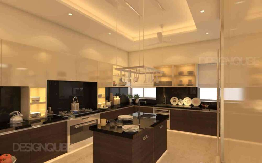 Kitchen Residential of Apartments  at Alwarpet