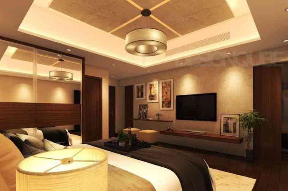 Master Bedroom Residential of Apartments  at Alwarpet