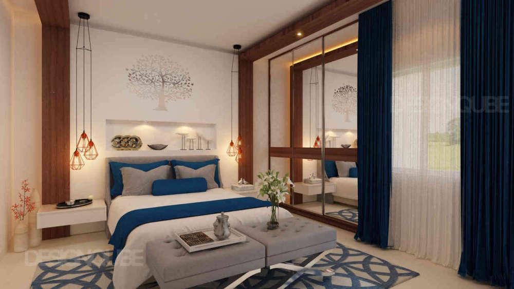 Bedroom1 Residential of Villa  at Annanagar