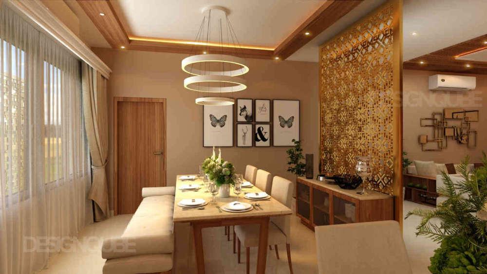 Dining Residential of Villa  at Annanagar
