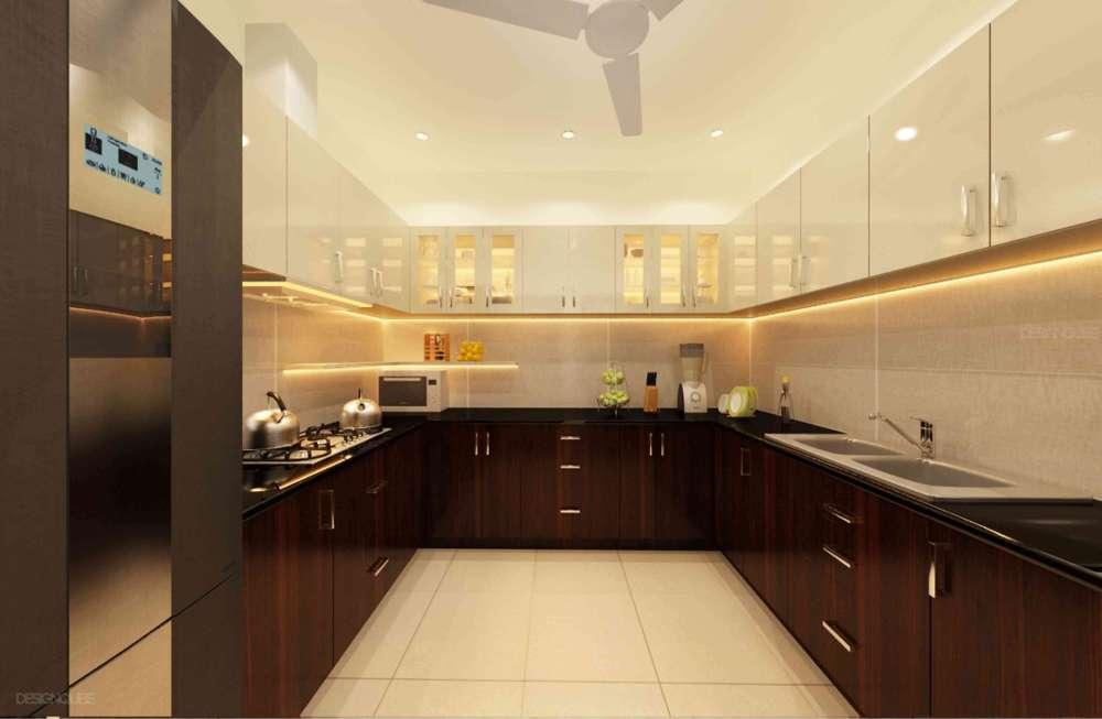 Kitchen Residential of Villa  at Vadapalani