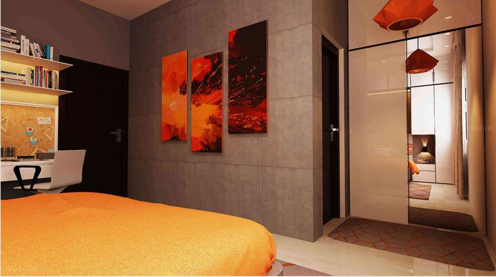 Bedroom4 Residential of Apartments  at Porur