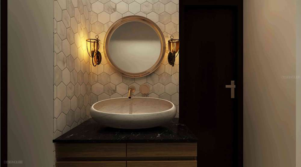Toilet Residential of Apartments  at Porur