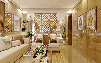 Villa Interiors  at Besant Nagar, Chennai