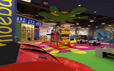 Gaming Center Interiors  at Whitefiled, Bangalore