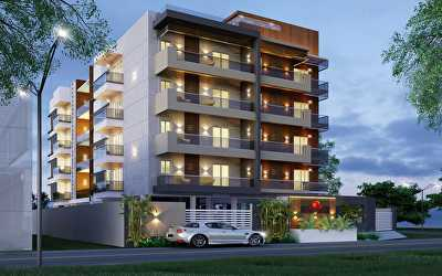 NORTH WEST NIGHT VIEW Residential of Apartments  at Nungambakkam