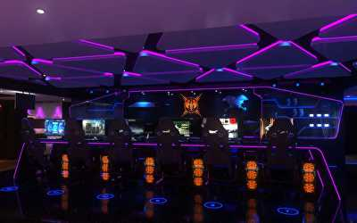 Gaming Center Interiors  at Nungambakkam, Chennai