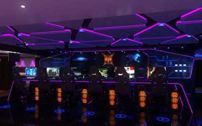 Gaming Center Interiors  at Nungambakkam, Chennai