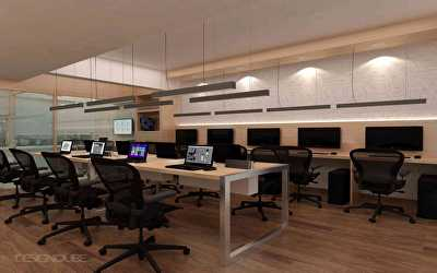Office Interiors  at Whitefield, Bangalore