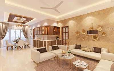 Apartments Interiors  at Royapettah, Chennai
