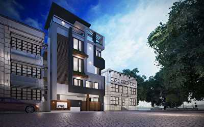 Villa Architecture  at Ramurthynagar, Bangalore
