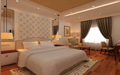 Hotel Interiors  at Golf Course Road, Bangalore