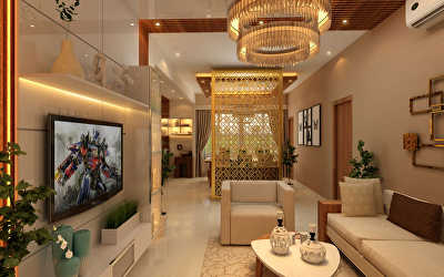 Villa Interiors  at Annanagar, Chennai