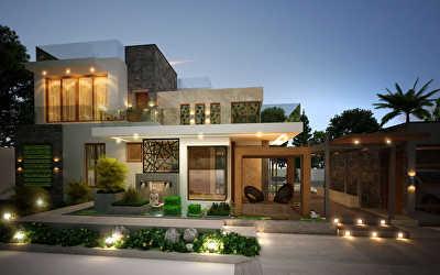 Villa Architecture  at VellanaiPatti Village Annur Ta, Coimbatore