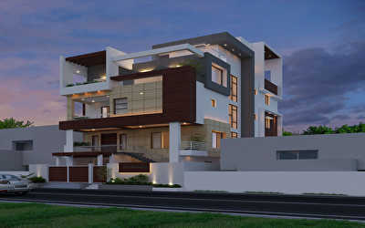 Residential of Villa  at Bharati Nagar