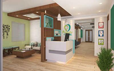 Clinic Interiors  at Peelamedu, Coimbatore