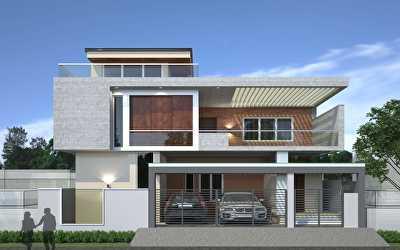 Villa Architecture  at Gurusamy Nagar, Coimbatore