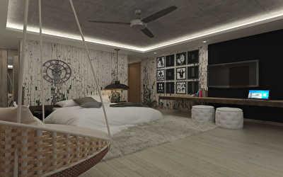 Apartments Interiors  at Kadri Hills, Mangalore